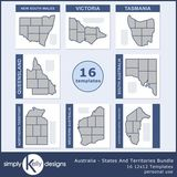 Australia - States And Territories Bundle
