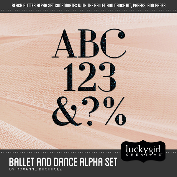 Ballet And Dance Alpha Set