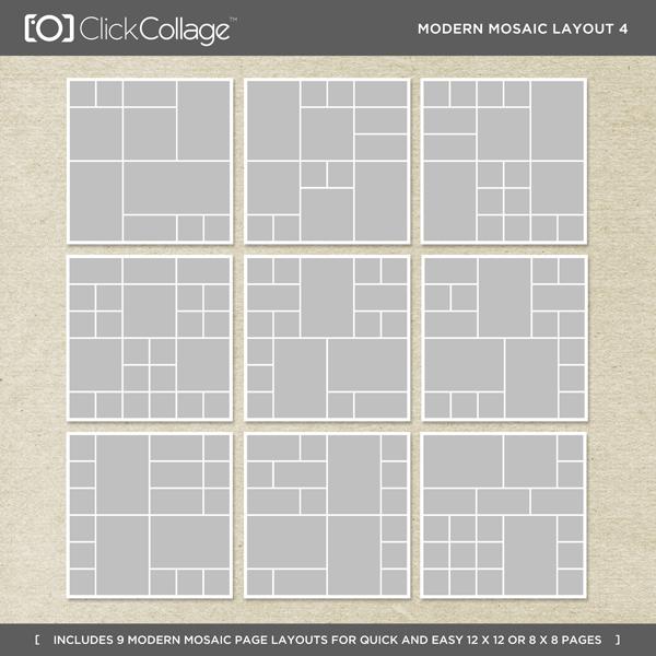 Modern Mosaic Layout 4