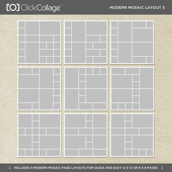 Modern Mosaic Layout 3
