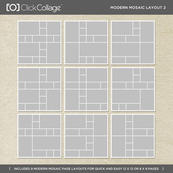 Modern Mosaic Layout 2