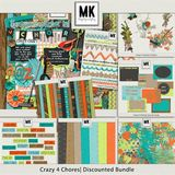 Crazy 4 Chores - Journal Cards
