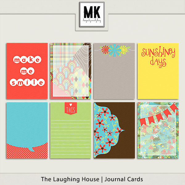 The Laughing House - Journal Cards