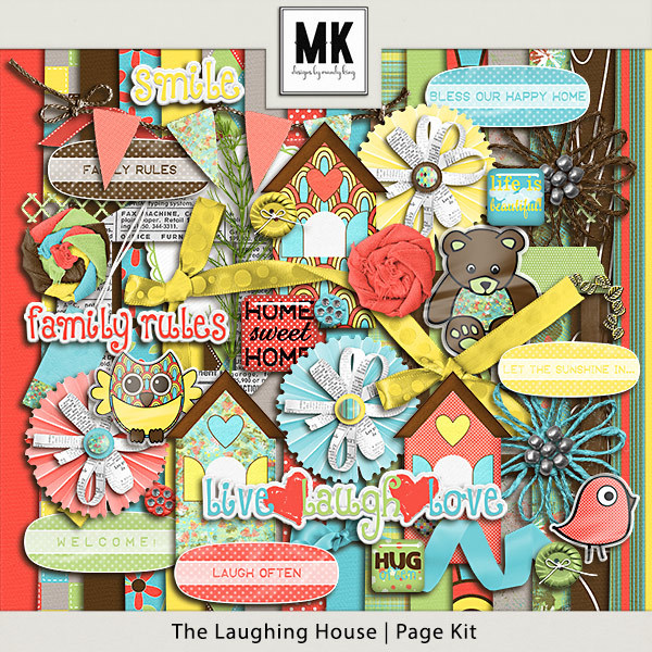 The Laughing House - Page Kit