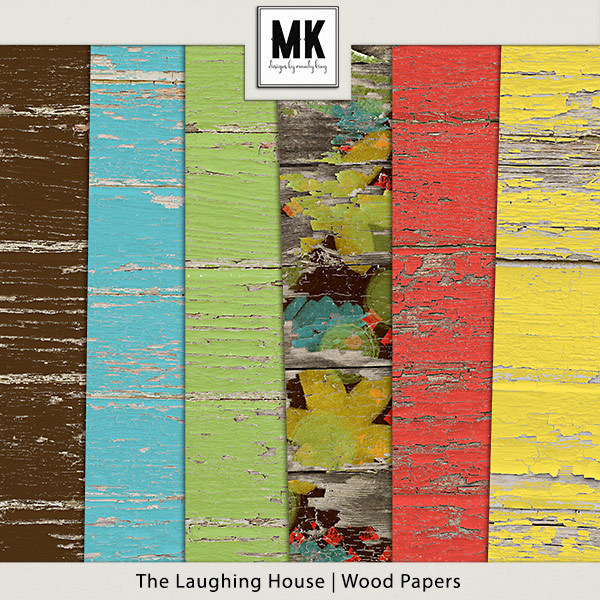 The Laughing House - Wood Papers