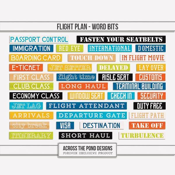 Flight Plan - Word Bits