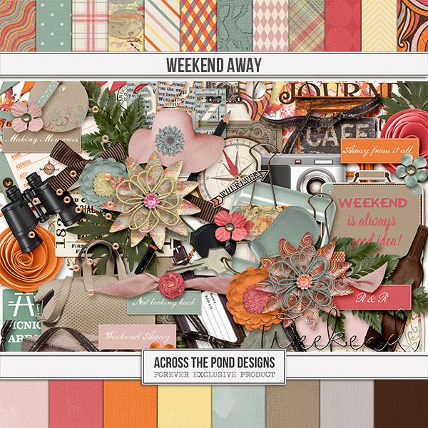 Weekend Away Page Kit