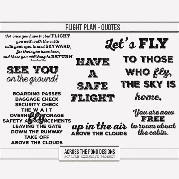 Flight Plan - Quotes