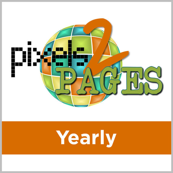 pixels2Pages Yearly Membership
