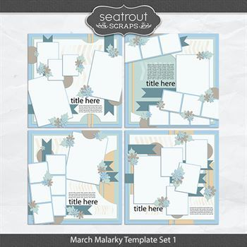 March Malarky Template Set 1