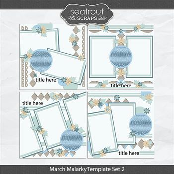 March Malarky Template Set 2