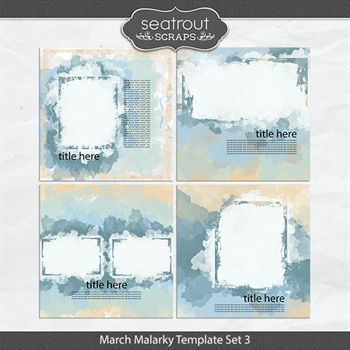 March Malarky Template Set 3