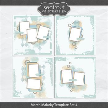March Malarky Template Set 4