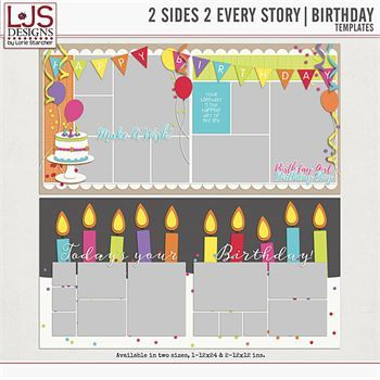 2 Sides 2 Every Story - Birthday