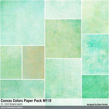 Canvas Colors Paper Pack No. 19