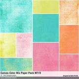 Canvas Color Mix Paper Pack No. 19