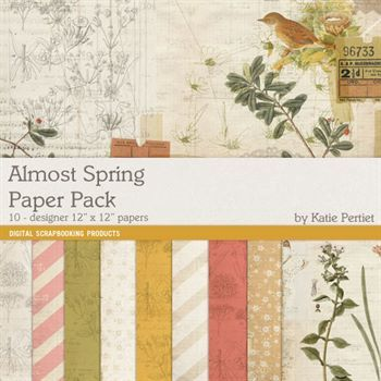 Almost Spring Paper Pack