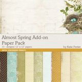 Almost Spring Add On Paper Pack
