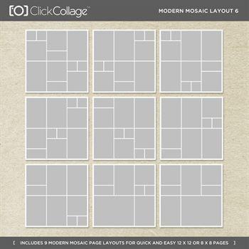 Modern Mosaic Layout 6