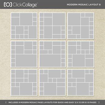 Modern Mosaic Layout 8