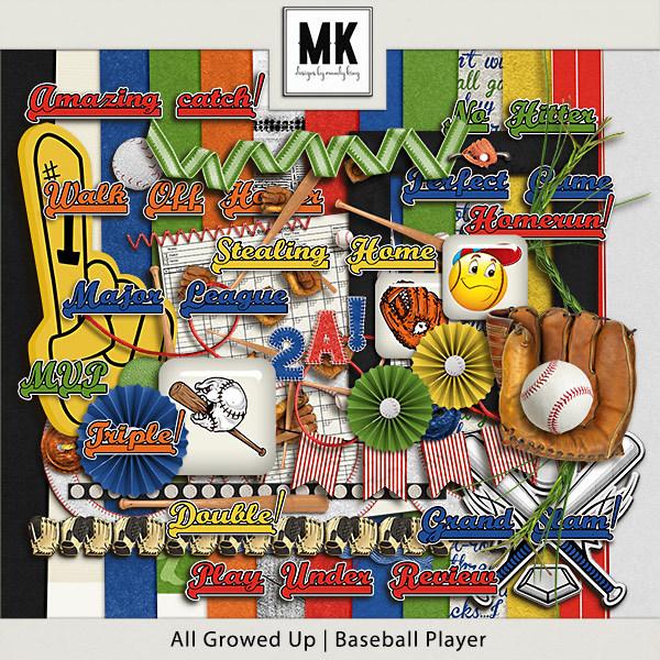 All Growed Up - Baseball Player