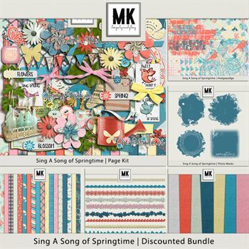 Sing A Song Of Springtime - Discounted Bundle