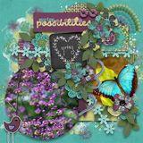 Spring Hullaballoo - Word Art