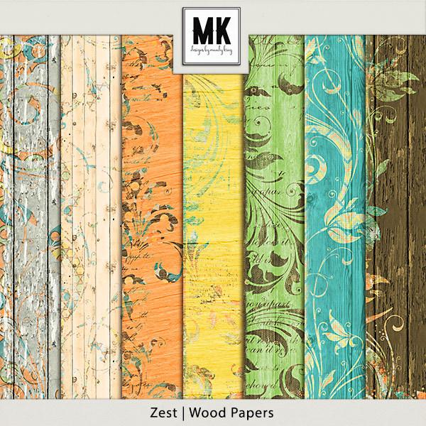 Zest Wood Papers