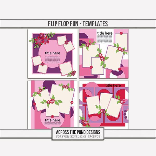 Flip Flop Fun - Templates