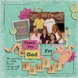 Friends & Family - Family Page Kit