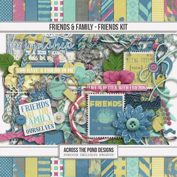 Friends & Family - Friends Page Kit
