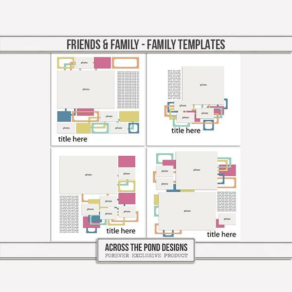 Friends & Family - Family Templates
