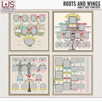 Roots And Wings - Templates