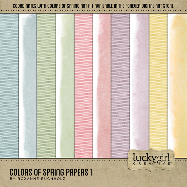 Colors Of Spring Papers 1