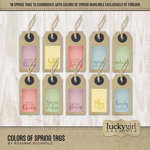 Colors Of Spring Tags