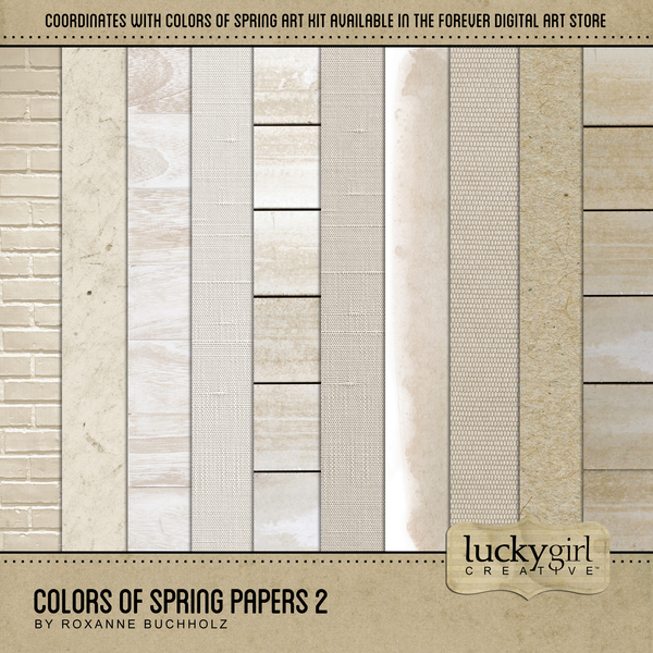 Colors Of Spring Papers 2