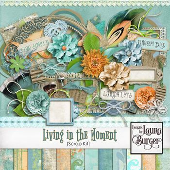 Living In The Moment Scrap Kit