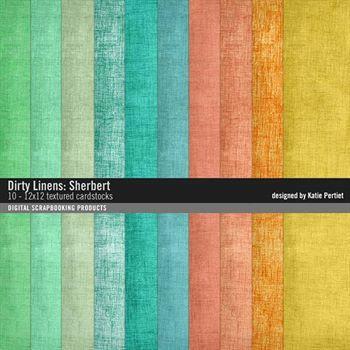 Dirty Linens Sherbert Paper Pack