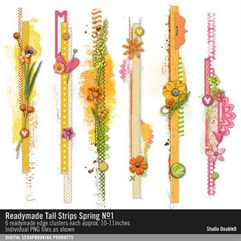 Readymade Tall Strips Spring No. 01