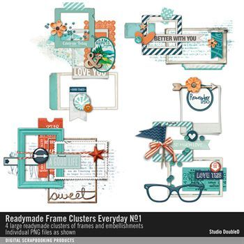 Readymade Frame Clusters Everyday No. 01