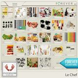 Le Chef Burlap Solids