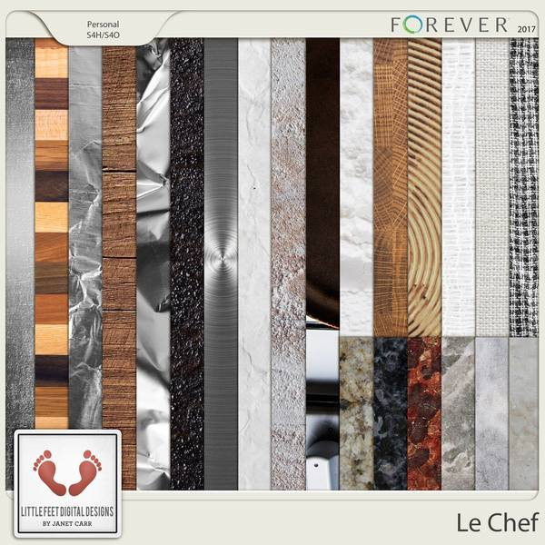 Le Chef Surface Papers