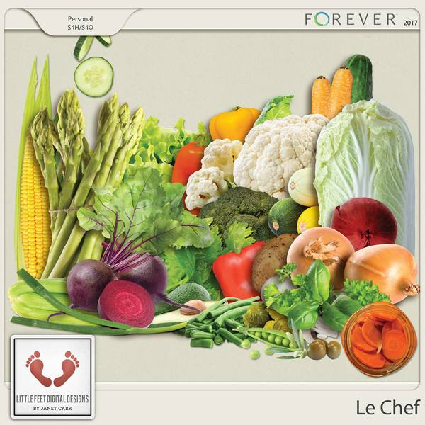 Le Chef Vegetables