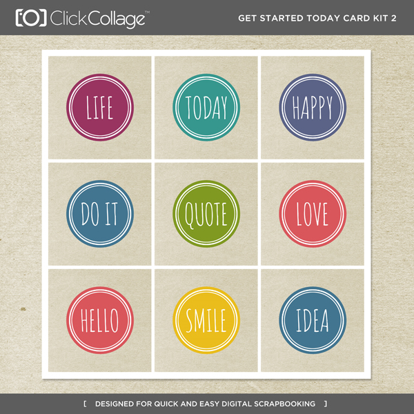 Get Started Today Card Kit 2