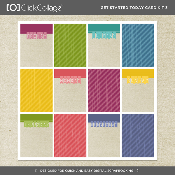 Get Started Today Card Kit 3