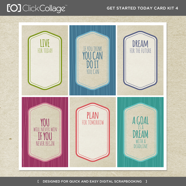 Get Started Today Card Kit 4