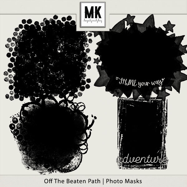 Off The Beaten Path - Photo Masks