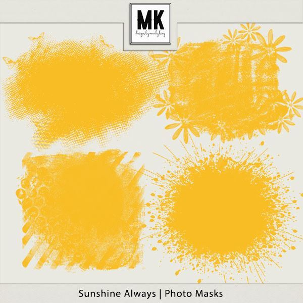 Sunshine Always - Photo Masks
