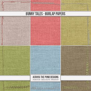 Bunny Tales - Burlap Papers