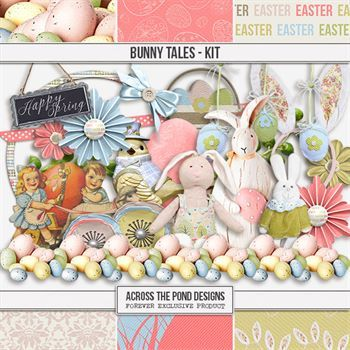 Bunny Tales - Page Kit